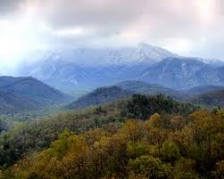 Great smoky mountains - before