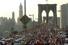 Blackout brooklyn bridge