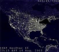 2003 blackout from space