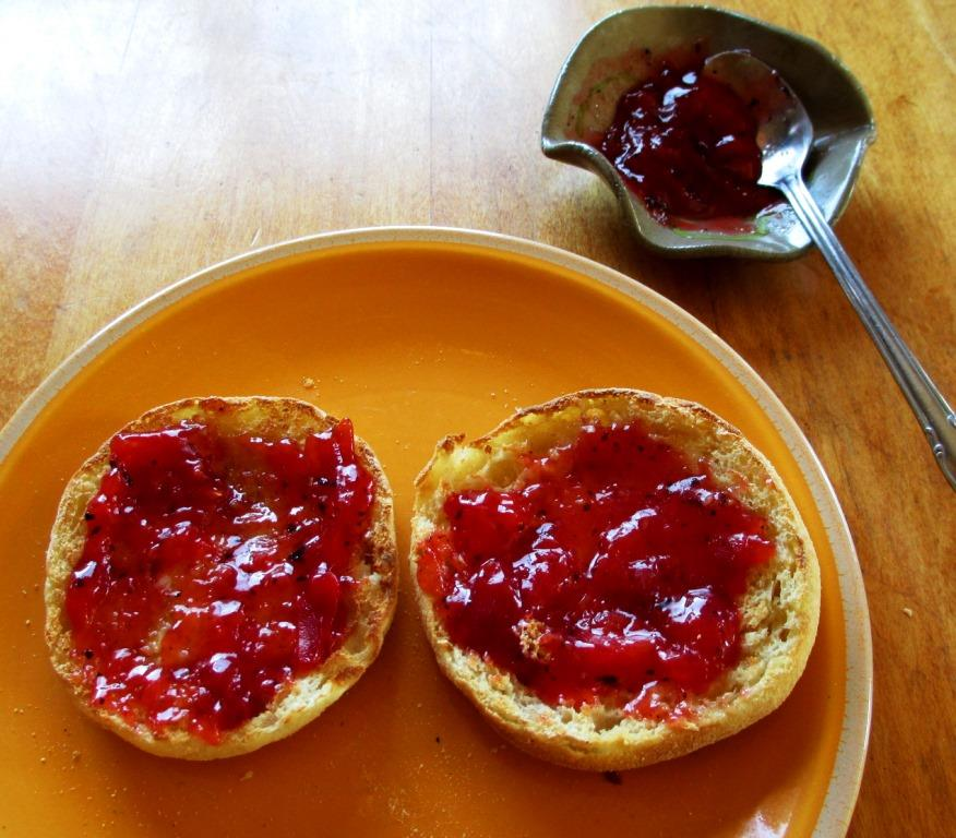 Red Velvet Nectarine Preserves With Earl Grey | Check Your ...