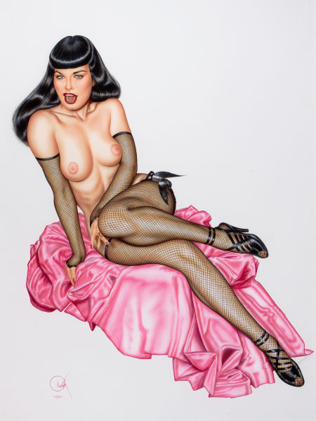 Bettie Page ~1991