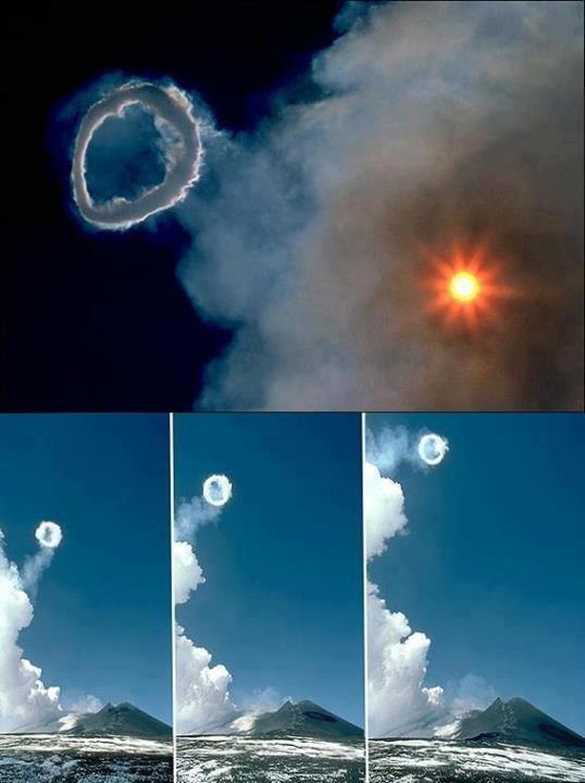 mt etna-volcanic smoke rings-130411
