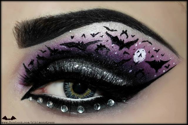 bat-halloween-eye-makeup