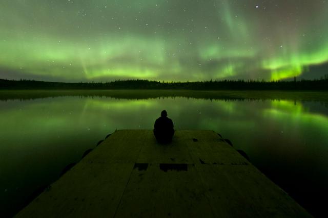 sitting on a dock-Ben Leshchinsky