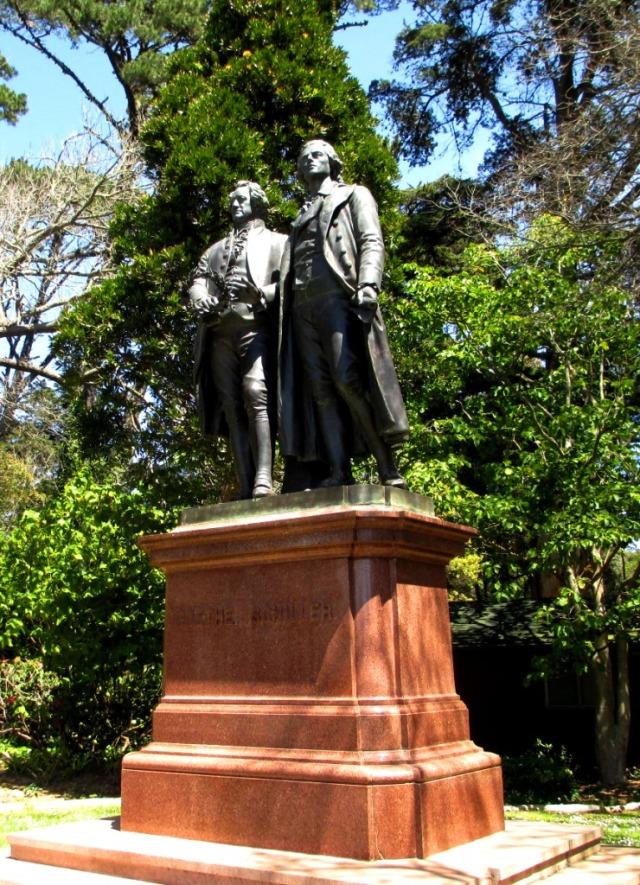 Goethe and Schiller.