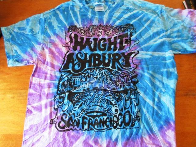 haight ashbury tshirt