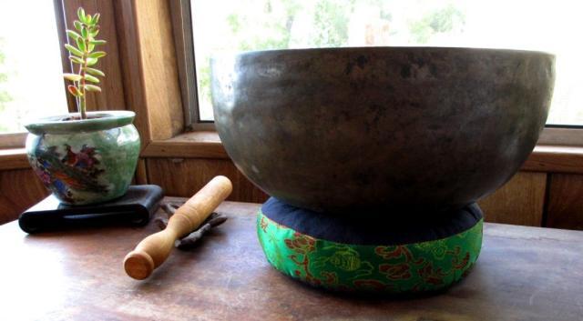 tibetan bowl ring