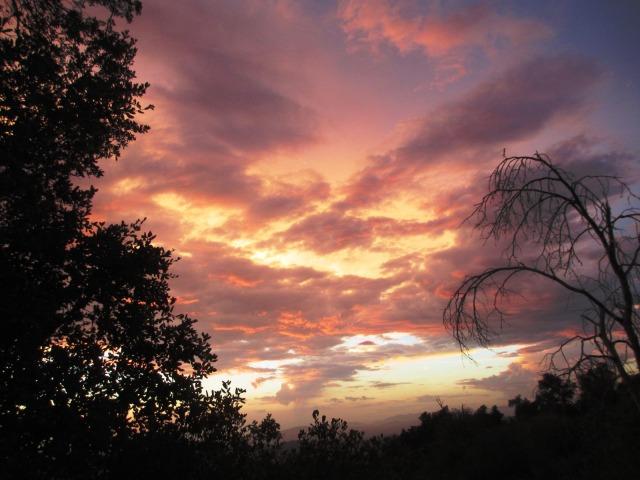 altamira sunset