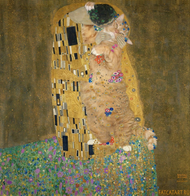 Zarathustra-klimt's the kiss_Svetlana Petrova
