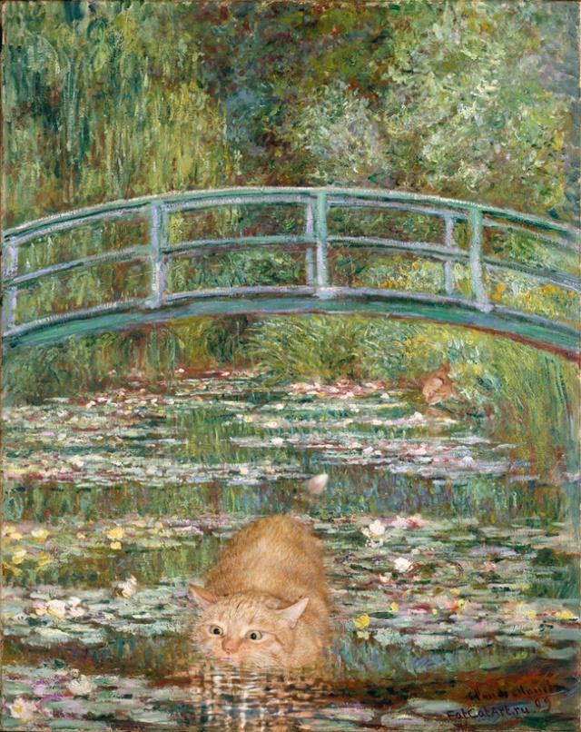Zarathustra-monet's water lilies_Svetlana Petrova