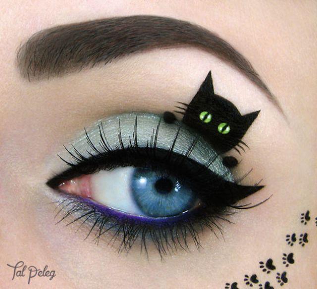 Black cat eye art_Tal Peleg