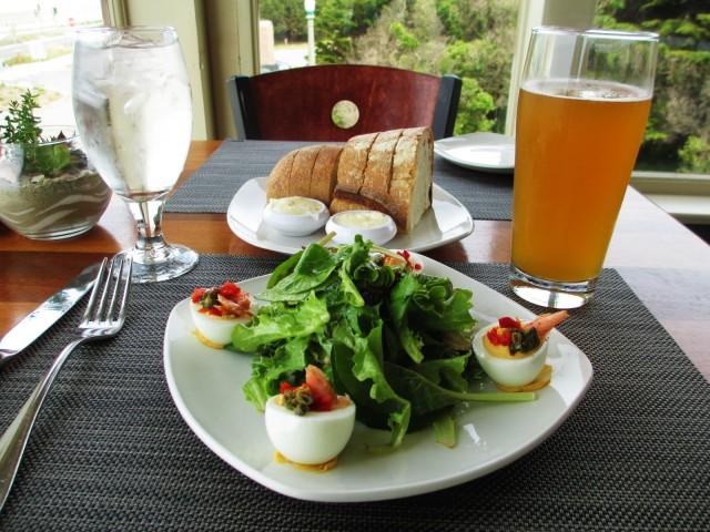 beach chalet-meal