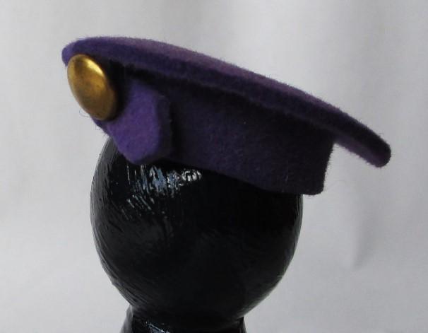 purple felt beret1