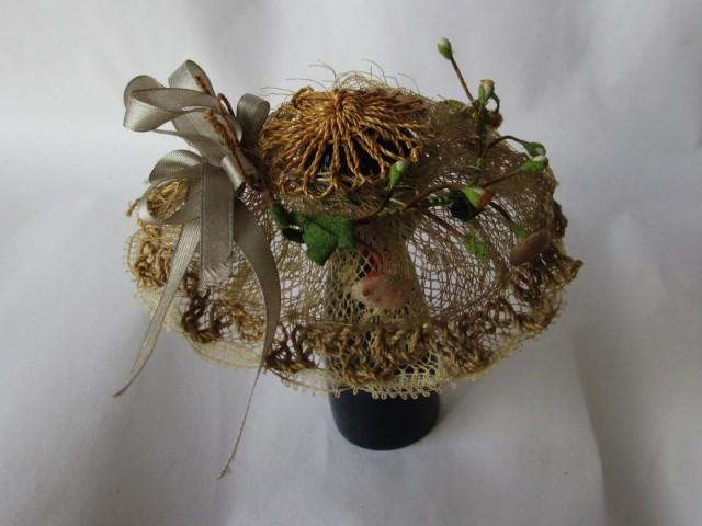 straw bonnet