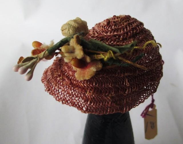 straw cloche w-flowers1