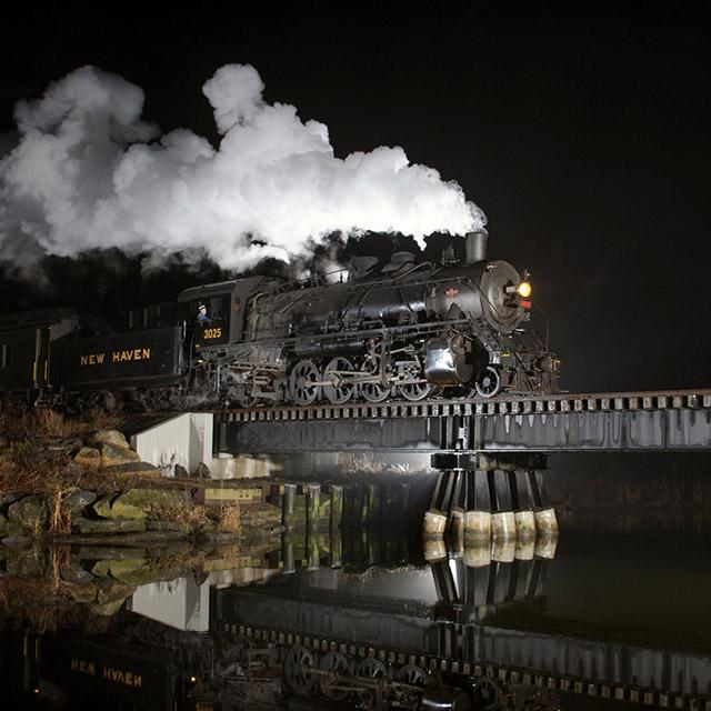 trains at night1-william gill