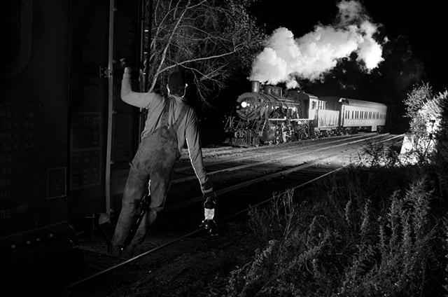 trains at night3-william gill