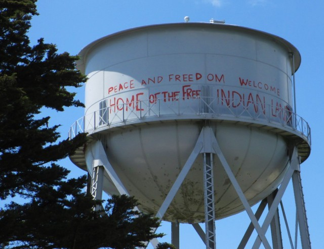 water tower-indian occupation