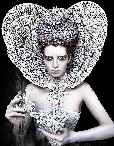 the white queen-kristy mitchell-wonderland-dedicated to mom maureen died brain cancer 2008