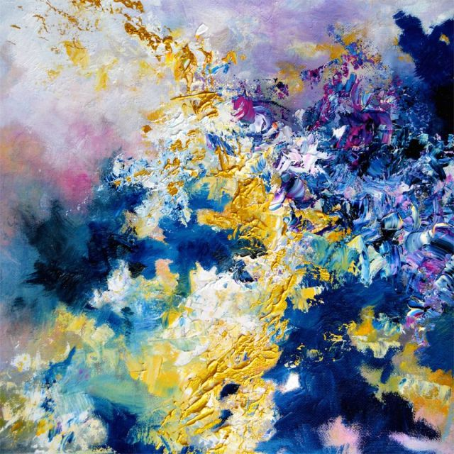 synethesia paintings of music-jimi hendrix-little wing_Melissa McCracken