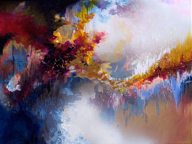 synethesia paintings of music-john lennon-imagine_Melissa McCracken