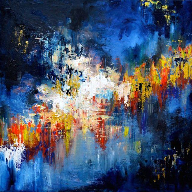 synethesia paintings of music-john mayer-gravity_Melissa McCracken