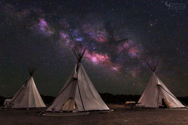 teepees w-stars_Savannah Williams