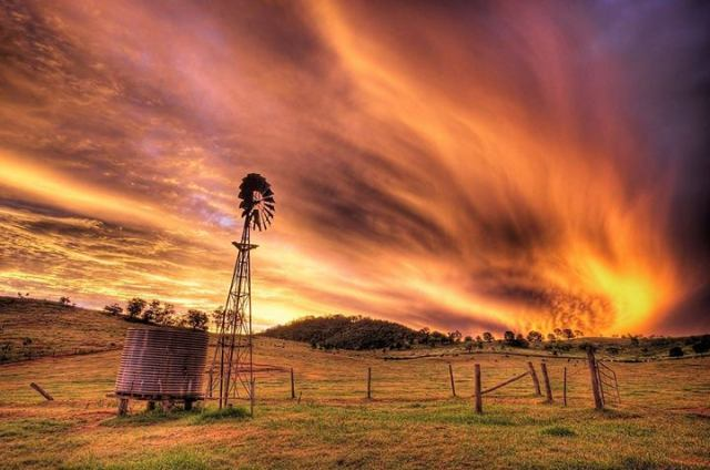 sunset-rural-australia
