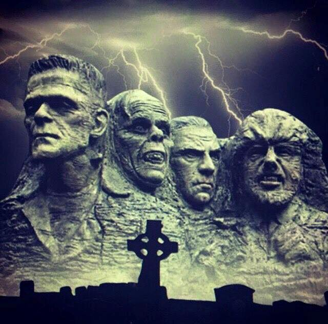 halloween-monster-rushmore